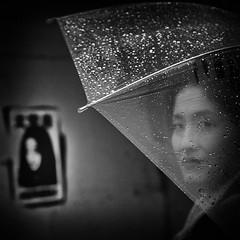 Whispers in the storm~ Shanghai (~mimo~) Tags: umbrella drops asia china cooldocks rain rainy shanghai street urban happyplanet asiafavorites