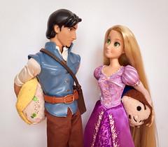 Surprise Gifts (honeysuckle jasmine) Tags: tsumtsum blonde hair doll disneyprincess princess rapunzel tangled disney