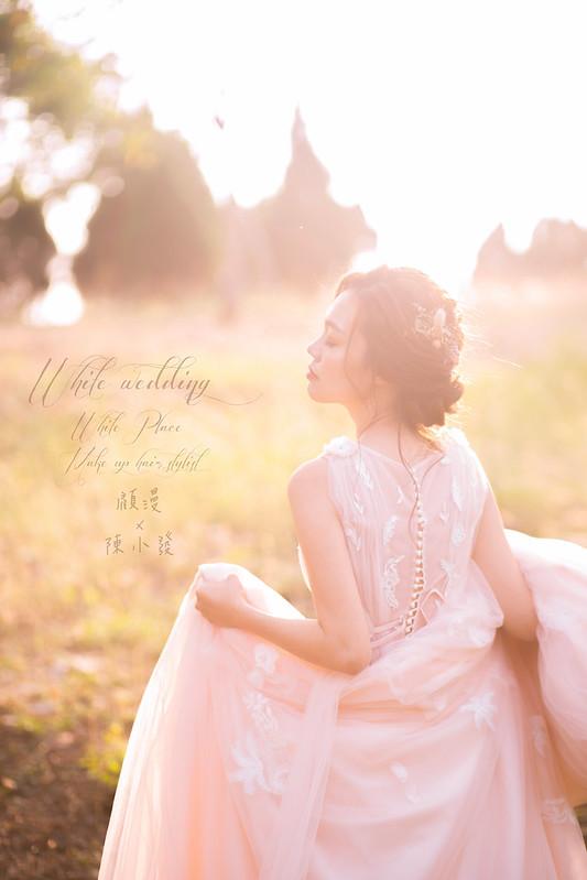 風格婚紗-白色婚禮