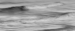 Impressions of waves (kaths piccies) Tags: icm waves longexposure blackandwhite fleetwood canon100mmf28lism