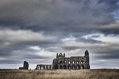 Vintage feel (eakoscinska) Tags: abbey whitby historic monastery ghotic architecture vintage sony a7iii tamron 2835 sonya73 explore yorkshire landscape northyorkshire