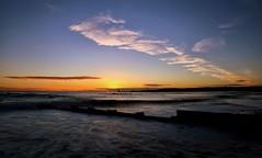 ABZ Sunrise (Explored #044) (PeskyMesky) Tags: aberdeen aberdeenbeach sunrise sunset landscape longexposure water sky cloud canon canon6d eos