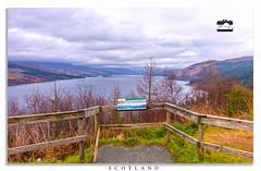 SCOTLAND (Abedin's clicks) Tags: scotland cloudysky uk hill holiday landscape river grass