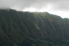 island cliffs (CNorthExplores) Tags: mountain cliffs cliff cloudy sunlight outdoors outside hiking nature outdoor trees hawaii oahu makuavalley ridge valley clouds landscape island light