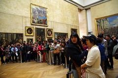 The Mona Lisa Room (sarowen) Tags: thelouvre paris france parisfrance museum muséedulouvre louvremuseum monalisa monalisaroom tourists