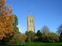 DSCN6112 (southglosguytwo) Tags: 2018 november autumn stmaryschurch grass hometown remembrancesunday sky southgloucestershire trees yate