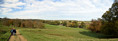 Wandering Through The Park (Worthing Wanderer) Tags: petworth petworthpark clouds autumn october sunny sussex westsussex park nationaltrust