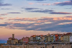 Where My Heart Wants To Go (Anna Kwa) Tags: sunset clouds colors town slovenia annakwa nikon d750 7002000mmf28 my heart wind soul always seeing throughmylens travel world thewind catstevens adriaticcoast piran