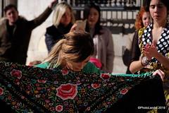 Flamenco en la calle (Landahlauts) Tags: andalucia andalusia artistacallejero bailaora baile ciudaddegranada comarcadelavegadegranada cultura culturadeandalucia flamenco fujifilmxt1 fujinonxf18135mmf3556rlmoiswr granada photolanda plazanueva urbanart