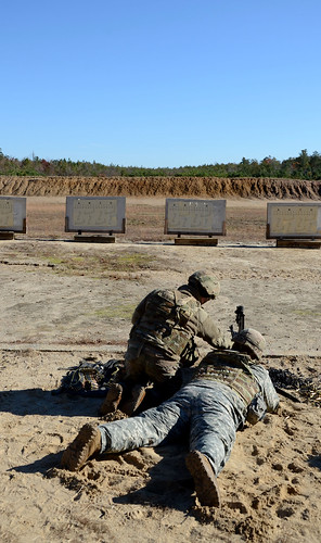 Normandy Soldiers conduct crew-served weapons ranges