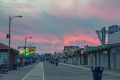 Wildwood Boardwalk (seanbeebe_photo) Tags: boardwalk sunset wildwood nj newjersey