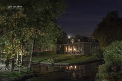 nächtliches Giethoorn (Light and shade by Monika) Tags: nightscape night moon langzeitbelichtung