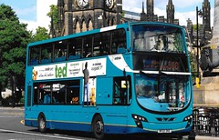 Arriva 7615 / NK59 DND (TEN6083) Tags: newcastle stmary'splace eclipsegemini2 wright db300 vdl nk59dnd 7615 arriva nebuses bus