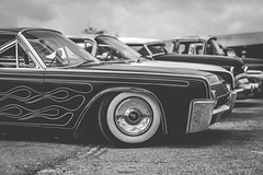 Clouds and Flames (DarrenCowley) Tags: lincoln continental vintage classic flames clouds car 1950s texas austin retro petrolhead