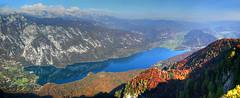 Bohinj in Autumn (hapulcu) Tags: slovenia slovenie slovenija slowenien automne autumn autunno otoño bohinj lake alps alpen alpi alpine herbst