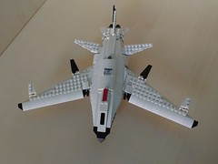 Lego SDP Mk. 3 Tyrant Kite UCAV (2) (Parm Brick) Tags: lego drone ucav moc mod afol legobrick military modern warfare battlefield aviation army stealth vehicle jet aircraft combat air militaryaviation