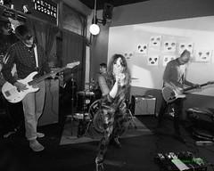 Pleasure Leftists, Turn Turn Turn, Portland, OR, 3-14-2019 (convertido) Tags: punk postpunk dark gothic hc anarchopunk candy apple haze post tacoma portland pdx cleveland pleasure leftists criminal code piss test over pacnw nw turn black white photo photography concert live music show