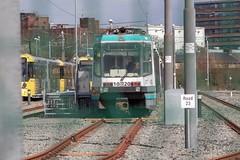 Metrolink 1020 (Mike McNiven) Tags: manche manchester metrolink tram metro lightrail lrv oldtrafford trafford depot rail t68