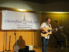 Martin Simpson (taptonted617) Tags: martin simpson music musician folk chesterfield library 2014