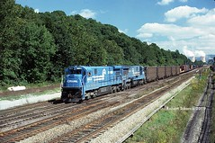 3 Track At CONPIT (NSHorseheadSD70) Tags: robert tokarcik conrail cp conpit railroads trains railways locomotives new florence pa pennsylvania emd ge