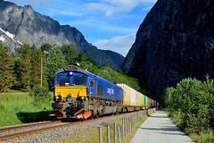 2014  95806  N (Maarten van der Velden) Tags: noorwegen norway norwegen norvège norge noruega horgheim cargolink cargolinkt66k714 class66 train5902