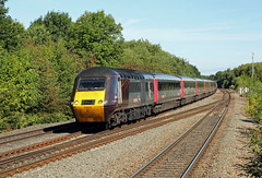 43378 43301 Syston (CD Sansome) Tags: syston station train trains mml midland main line 43378 43301 43 arriva cross country hst high speed