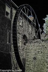 Oberlauda Wasserrad