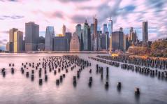 New York City (TP17) Tags: newyorkcity nyc iconic brooklyn piles wood wideangle fujix tompiorkowski