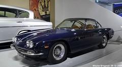 Lamborghini 350 GT 1965 (XBXG) Tags: gn34 lamborghini 350 gt 1965 coupé coupe v12 louwman museum leidsestraatweg den haag denhaag nederland holland netherlands paysbas musée automobile vintage old classic italian car auto voiture ancienne italienne italie italia italy vehicle indoor