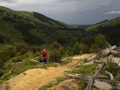 Arapuke (Wozza_NZ) Tags: arapuke track palmerstonnorth storm mountains nz newzealand mountainbiking biking mtb singletrack