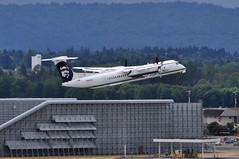 Alaska Airlines (Horizon Air) - Bombardier (De Havilland Canada) DHC-8-402Q (Dash 8 / Q400) - N445QX - Portland International Airport (PDX) - June 3, 2015 4 402 RT CRP (TVL1970) Tags: nikon nikond90 d90 nikongp1 gp1 geotagged nikkor70300mmvr 70300mmvr aviation airplane aircraft airlines airliners portlandinternationalairport portlandinternational portlandairport portland pdx kpdx n445qx alaskaairlines horizonair horizon alaskaairgroup dehavillandcanada dehavilland dhc dehavillandcanadadhc8 dehavillandcanadadash8 dehavillanddhc8 dehavillanddash8 dhc8 dash8 q400 dhc8400 dhc8402 dhc8402q bombardieraerospace bombardier bombardierdash8 bombardierq400 prattwhitney pw prattwhitneycanada pwc prattwhitneycanadapw100 prattwhitneycanadapw150 prattwhitneycanadapw150a pwcpw100 pwcpw150 pwcpw150a pw100 pw150 pw150a turboprop