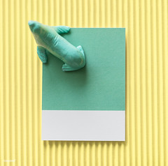 Color miniature sea lion figure (Rawpixel Ltd) Tags: abstract animal background card colorful concept creative decoration figure fun green joy little mini miniature model name paper pastel pattern play sealion seal shape small symbol textured tiny toy yellow