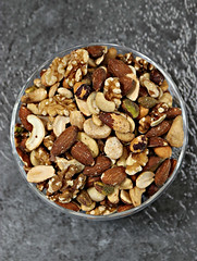 2018 Sydney: Weekend Snacks (dominotic) Tags: 2018 food snackfood nuts foodphotography mixednuts yᑌᗰᗰy hazelnuts cashewnuts walnuts almonds circle explore sydney australia