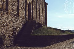 Up and DownStairs (lightsaber*) Tags: shadows shadow light stair stairs scale church bricks wall sanleo door architecture romanesque pieve minimal meadow green sky mattoni rocks rock emilia romagna architettura explore perspective romanico black