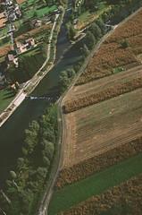 60970014 (sarahhusein) Tags: pentax portra400 ponte caffaro 35mm italy paragliding above