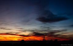 Fiery Sky - Albuquerque New Mexico (Kerstin Winters Photography) Tags: sky sunset newmexico sonnenuntergang nikon nikondsl nikondigital nikkor flickr outdoor albuquerque silhouette colors orange black yellow nachthimmel abendhimmel tree blue city