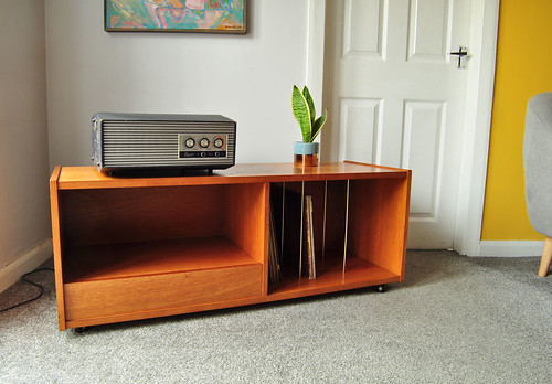 70's teak hi-fi unit by Gibbs Furniture