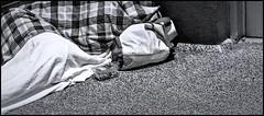 OVERLOOKED II (panache2620) Tags: monochrome blackandwhite bw candid urban city pverty homeless photojournalism photodocumentary socialdocumentary