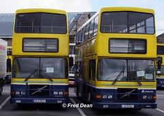 Dublin Bus RV437 & RV454. (Fred Dean Jnr) Tags: broadstone dublin buseireannbroadstonedepot april2010 rv437 rv454 98d20437 99d454 broadstonedepotdublin r16gct vcz155