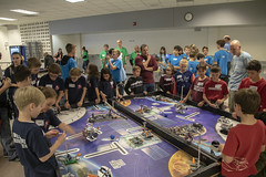 Practice Tables (noname_clark) Tags: fll first lego firstlegoleague students kids