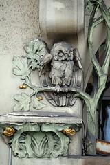 Prager Fassadendetails - 5 (fotomänni) Tags: prag prague praha jugendstil fassadenfiguren skulptur skulpturen sculpture kunst art manfredweis