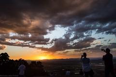 solar cultists (dustaway) Tags: sunset sunsetclouds sundown tamborinemountain mounttamborine sequeensland queensland australia sky horizon people solarcultists