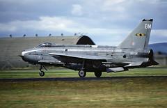 LIGHTNING F6 XR726 (TF102A) Tags: aviation aircraft airplane raf rafleuchars englishelectric lightning 11squadron xr726