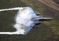CLOUDY (Dafydd RJ Phillips) Tags: ln604 lakenheath usaf mach loop f15 f15e strike eagle level low fast jet vapour