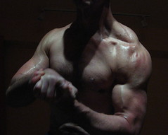 BIG BULGING BICEPS (flexrogers20) Tags: bodybuilding guns flexing musclemodel muscular muscles pumped muscle bodybuilder abs chest jacked exercise pecs flex shredded delts traps ripped workout huge big welldeveloped wellbuilt mondo peaks peak bodybuild pose weightlifter fit fitness lats veins