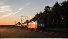 CFL Cargo 4012 @ Brühl-Schwadorf (Wouter De Haeck) Tags: deutschland dbnetz kbs470 köln koblenz rheinstrecken linkerheinstrecke nordrheinwestfalen brühl schwadorf brühlschwadorf niederrhein cfl chemindeferluxembourgeois cflcargo cfl4000 bombardier traxx p140ac1 cargo güterzug freighttrain traindemarchandise keteltrein kesselwagen