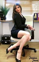 Chair Woman ♥ (jessicajane9) Tags: tg crossdresser tv xdress transgender crossdress tgurl feminised tranny crossdressing transvestite m2f trans femme travesti cd tgirl