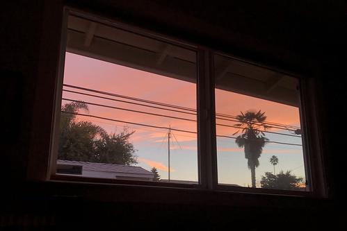 Bedroom Window Sunrise