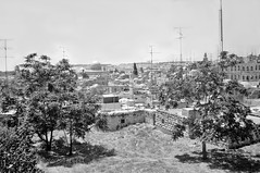 Jerusalem 1979, Israel (HoustonHVAC170) Tags: town al aqsa mosque dome rock holy city ancient architecture mosques old temple mount alaqsamosque domeoftherock holycity ancientcity oldtown templemount