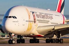 Emirates A6-EUZ 9-1-2019 (Enda Burke) Tags: a6euz yearofzayed yearofzayed2018 avgeek aviation airplane airport apron a380 a380800 airbusa380 airbusa380800 canon canon7dmk2 cockpit emirates emiratesairline arabemirates unitedarabemirates manchesterairport manchester man manc manairport manchesterrunwayvisitorpark manchestercity mcr omdb dxb dubai uae